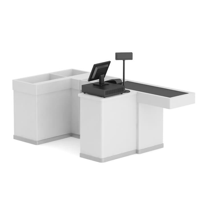3d Cashier Desk