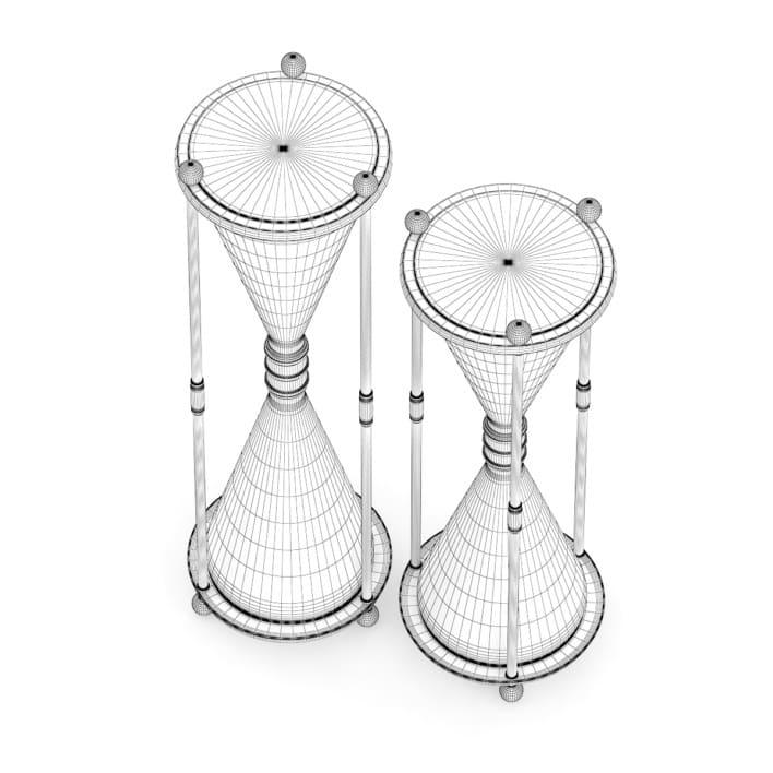 3d hourglass