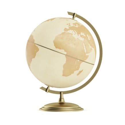 3d Antique Globe