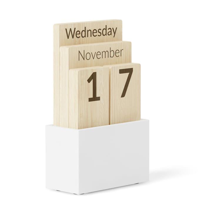 3d Wooden Calendar