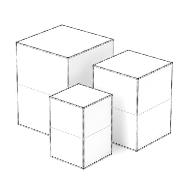 3d Decorative Glass Cubes