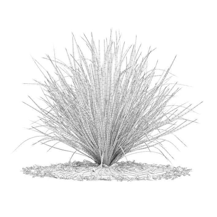 3d Decorative Grass