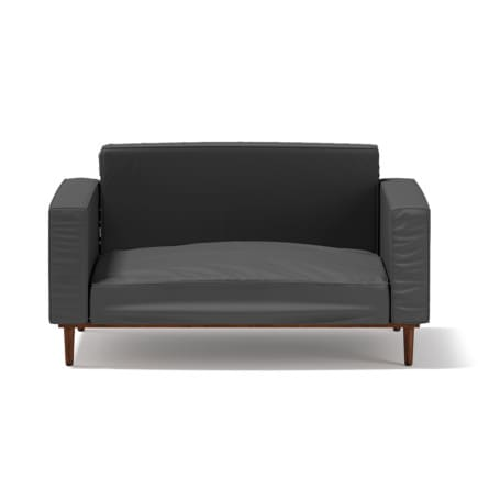 3d Dark Grey Armchair