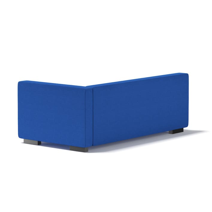 3d Blue Corner Sofa