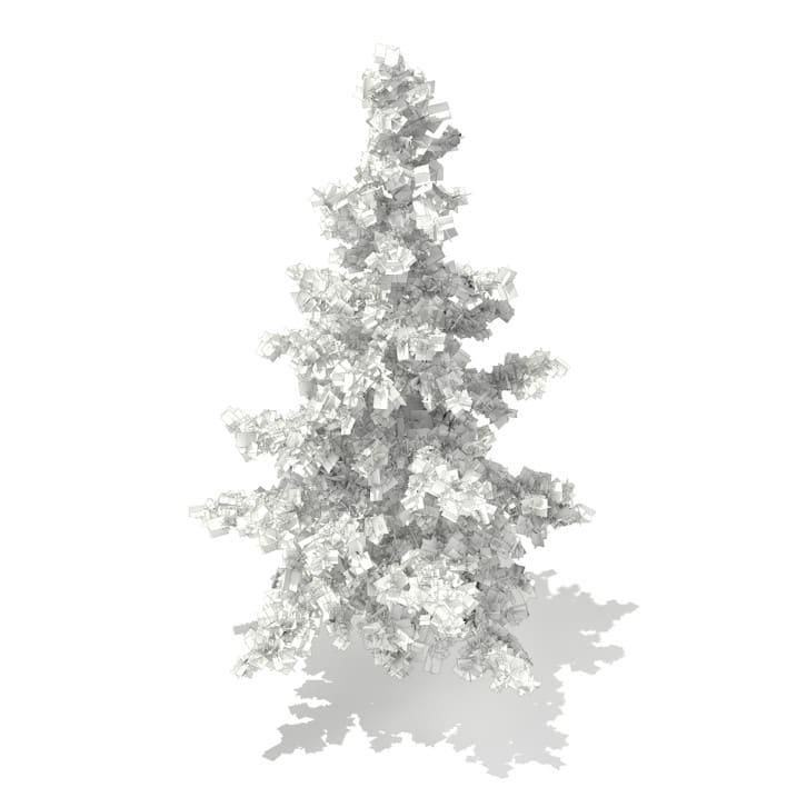 3d Blue Atlas Cedar