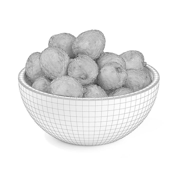 Bowl of Lychees