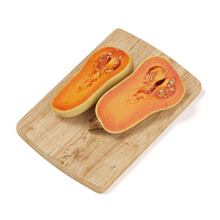 Sliced Oblong Pumpkin