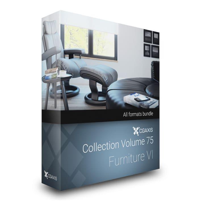 cgaxis models volume 75 furniture vi