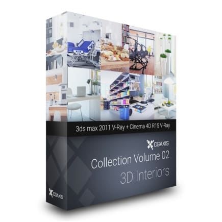 cgaxis 3d interiors volume 2