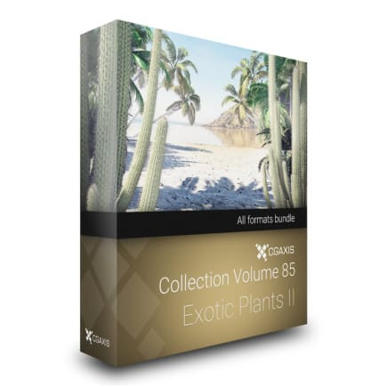 cgaxis models volume 85 exotic plant