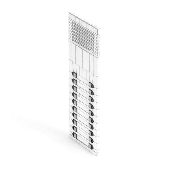External Intercom 3D Model