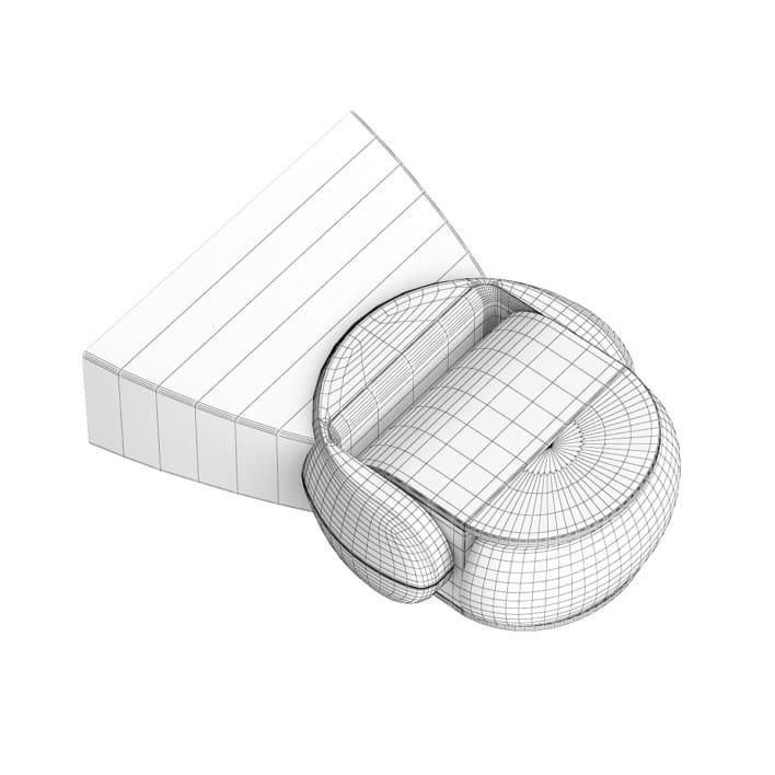 Motion Detector 3D Model