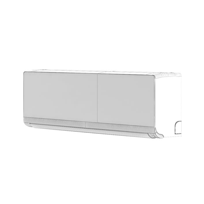 Interior Air Conditioner 3D Model