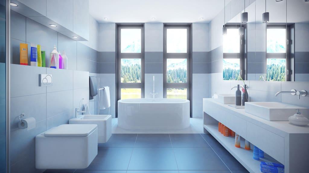 Bathroom 3D Scene