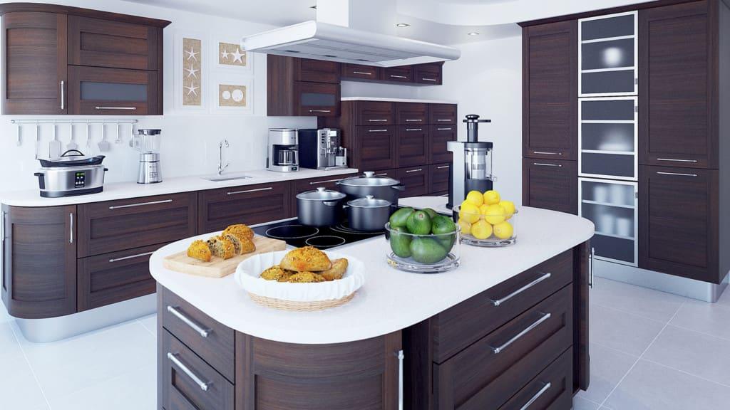 Kitchen 3D Scene