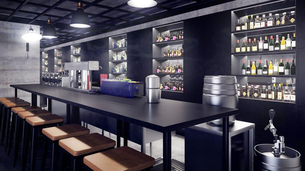 Bar 3D Scene