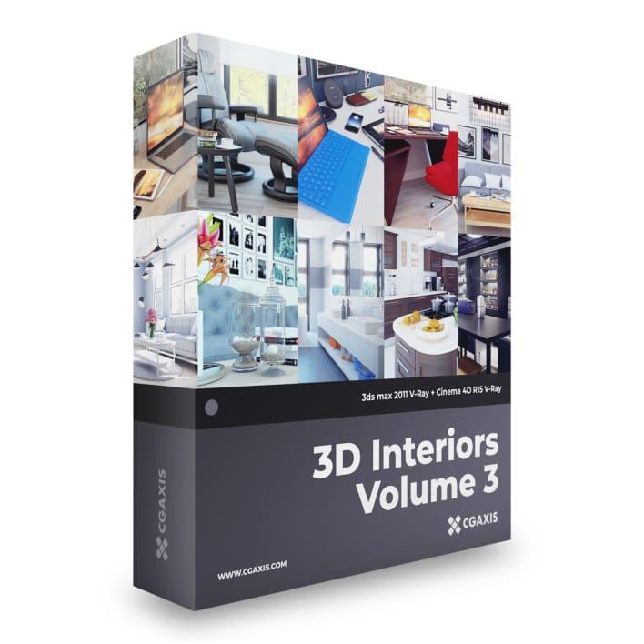3D Interiors Volume 3
