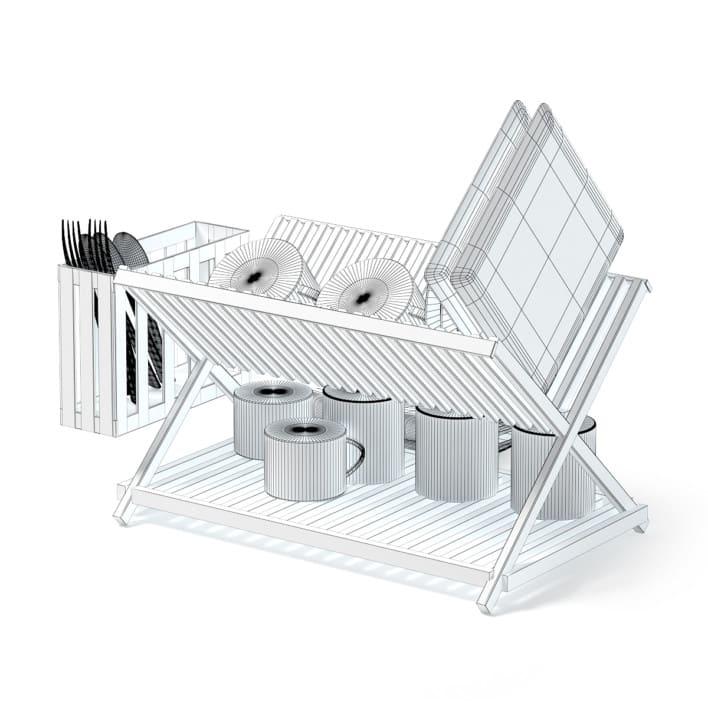 Dish Dryer 3D Model