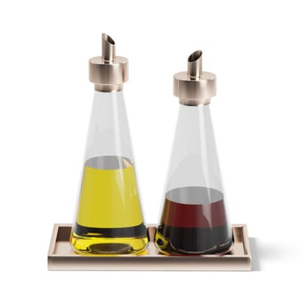 Oil and Sauce Bottles 3D Model