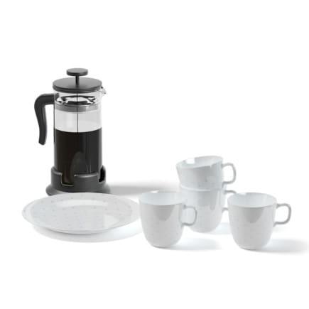 Tea Set and Tea Infuser 3D Model