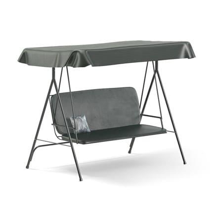 Garden Swing Chair 3D Model