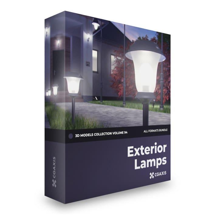 Exterior Lamps 3D Models