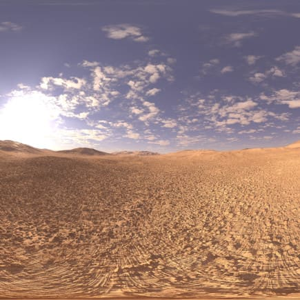 Late Morning Desert HDRI Sky