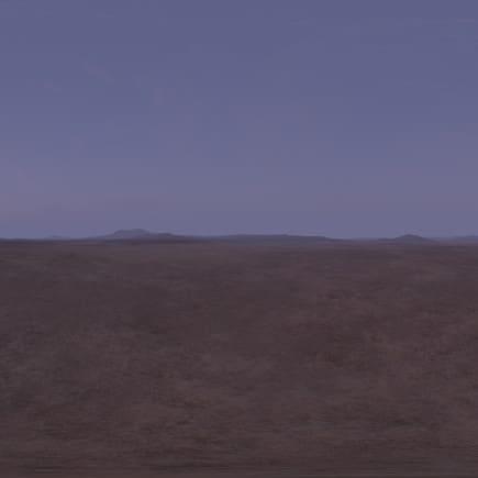 Early Morning Desert 2 HDRI Sky