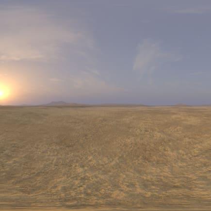 Morning Desert Desert 2 HDRI Sky