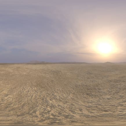Afternoon Desert 2 HDRI Sky