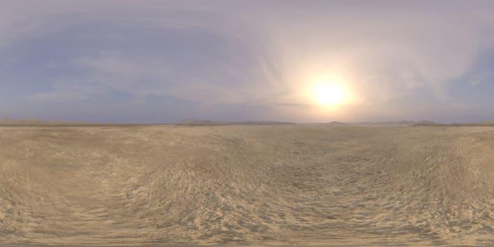 Afternoon Desert 2 HDRI Sky