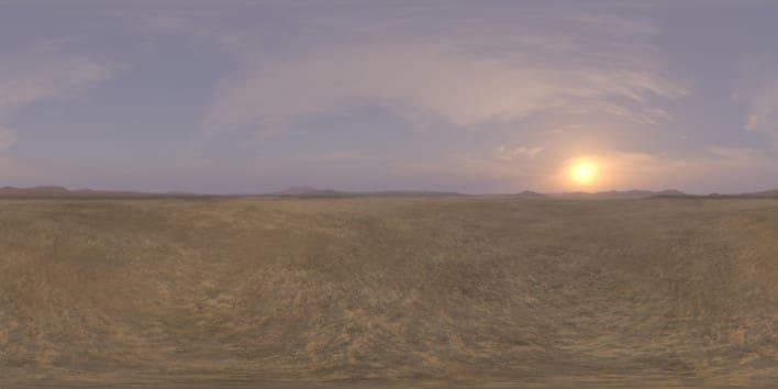Late Afternoon Desert 2 HDRI Sky