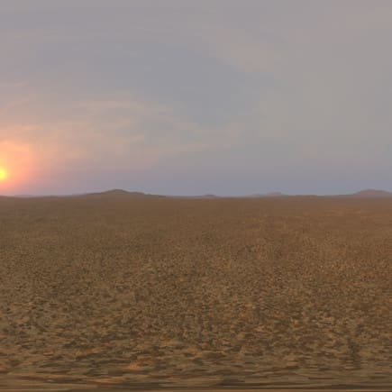 Morning Desert 3 HDRI Sky