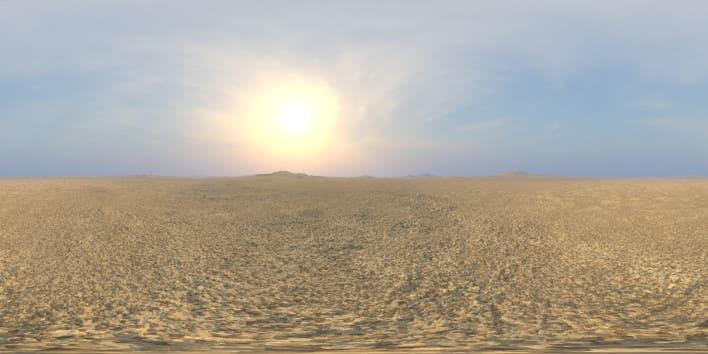 Early Midday Desert 3 HDRI Sky