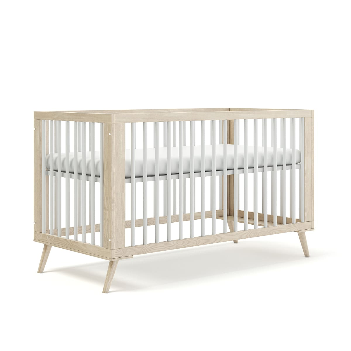 Wooden Baby Bed Cgaxis 3d Models Store