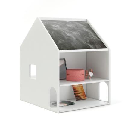 House Shape Shelf with Blackboard