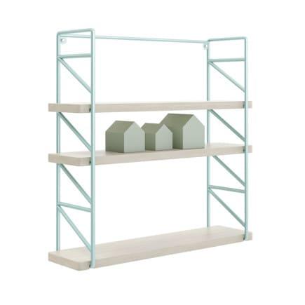 Wall Shelf with House Shape Blocks