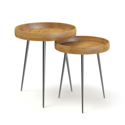 Two Small Tables 3D Model