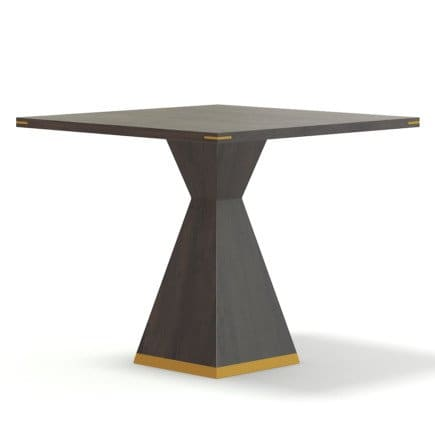Square Wooden Table 3D Model