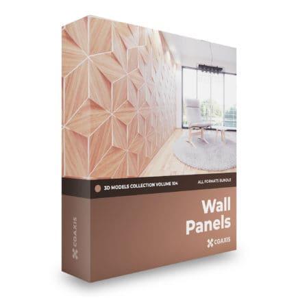 wall panels 3d models