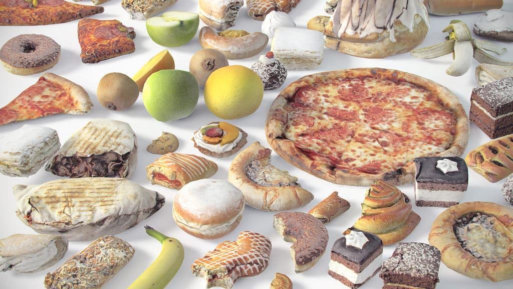 food 3d models for unity