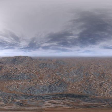 Afternoon Desert HDRI Sky
