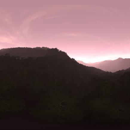 Evening Forest Hills HDRI Sky