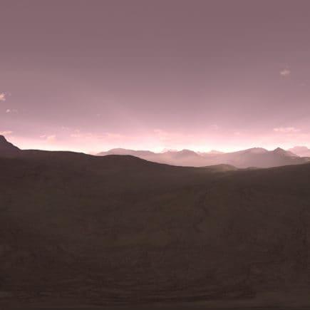 Evening Desert HDRI Sky