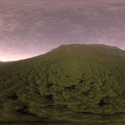 Evening Hill HDRI Sky