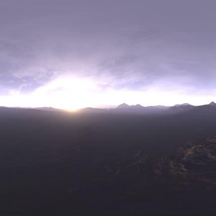 Early Morning Tundra HDRI Sky