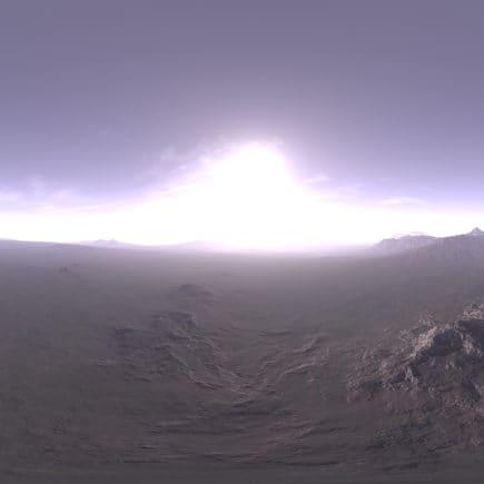 Late Morning Tundra HDRI Sky
