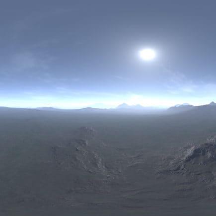 Before Noon Tundra HDRI Sky
