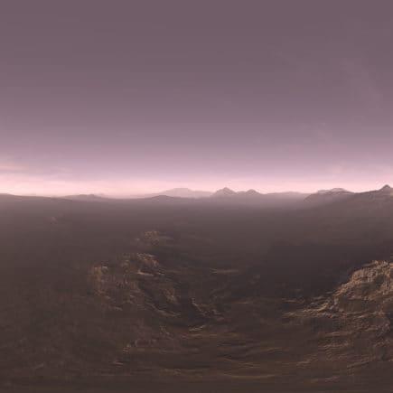 Evening Tundra HDRI Sky