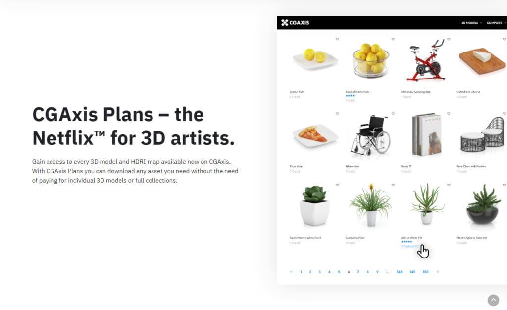 Download 3D Models More Easily